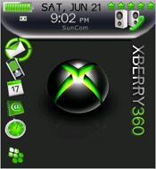 Blackberry con XBox