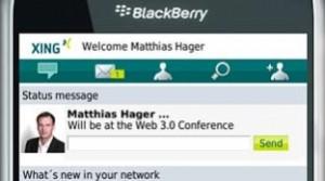 xing para blackberry