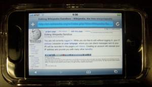 wiki iphone
