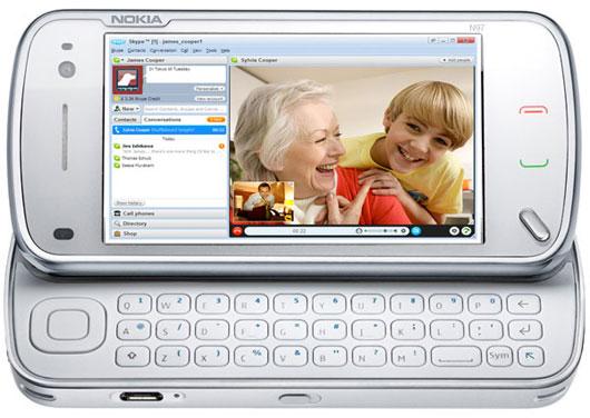 Skype en un Nokia N97